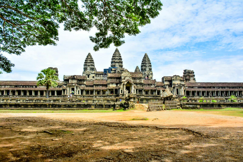 Angkor Wat - the majestic temple
