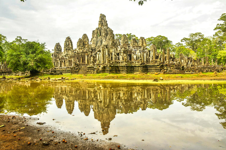 Bayon - The Buddhist Temple converted to Shiva Temple