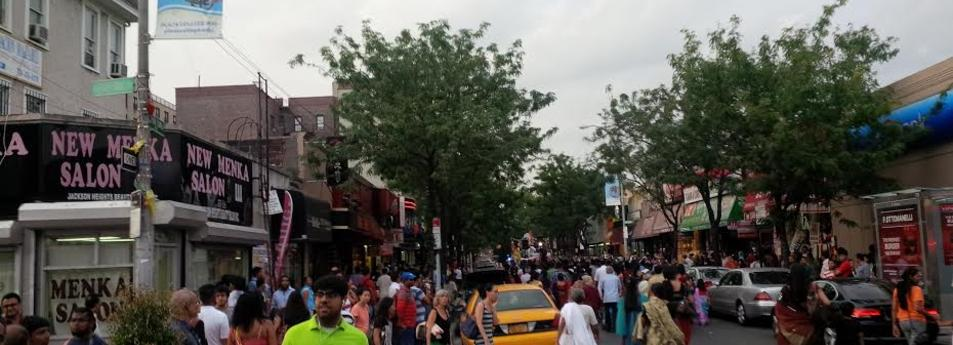 Near 74th Street and Roosevelt Ave, Jackson Heights, Queens
