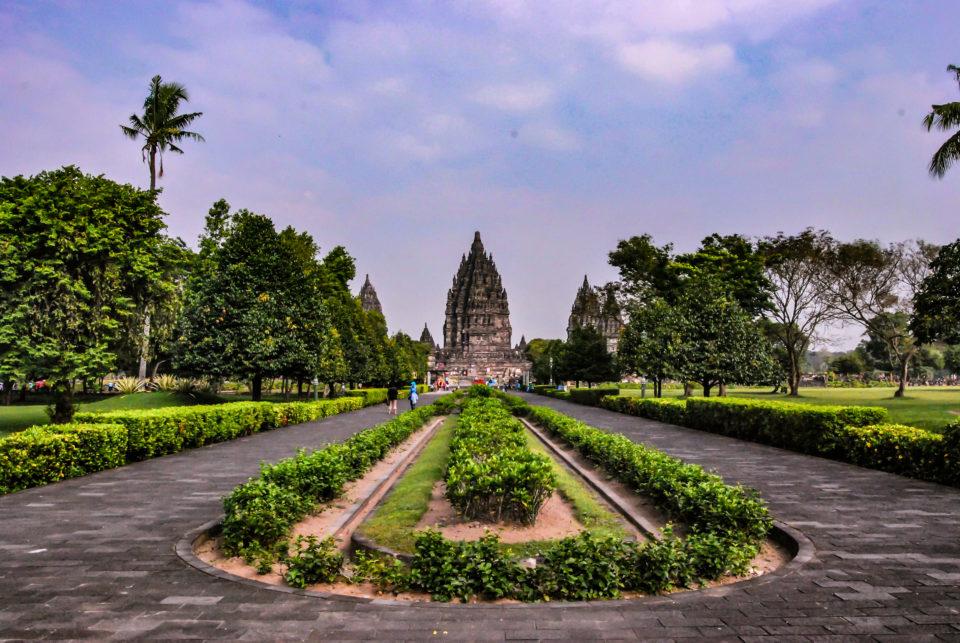 Prambanan Temple Compound  Entrance