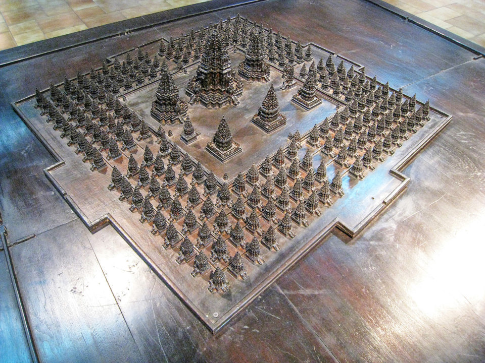 Arrangement of Prambanan temple complex - Photo Credit - From Wikipedia