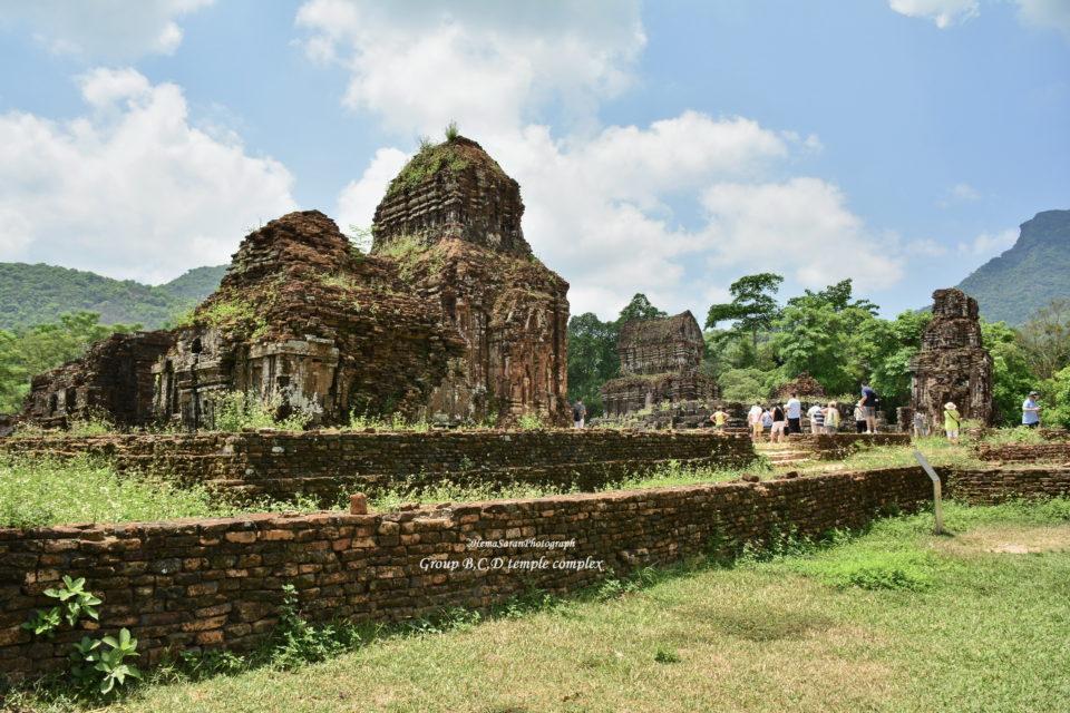 Group B,C, D temple complex