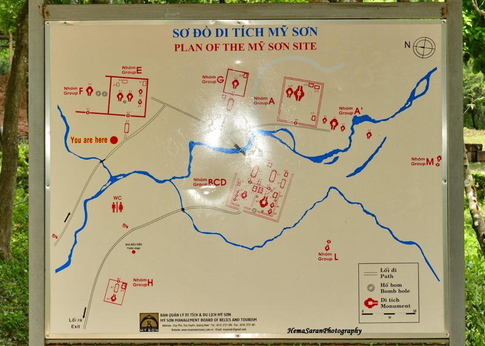 Map of MySon