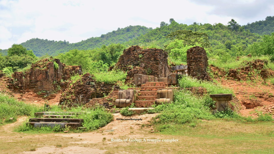 Ruins of Group A temple complex