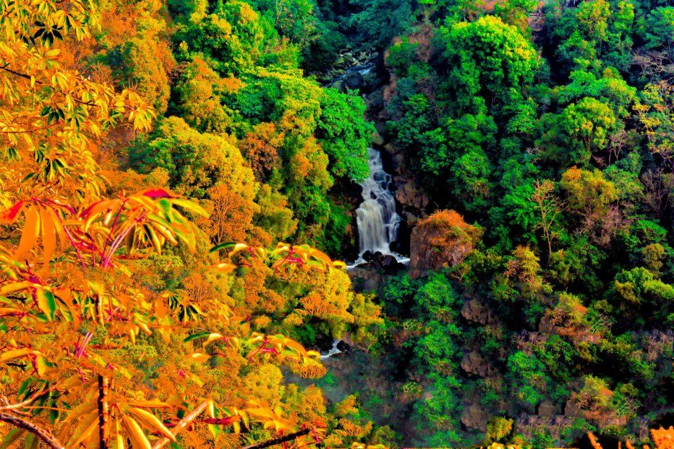 Bishop and Beadon falls are 2 falls within Shillong city limits