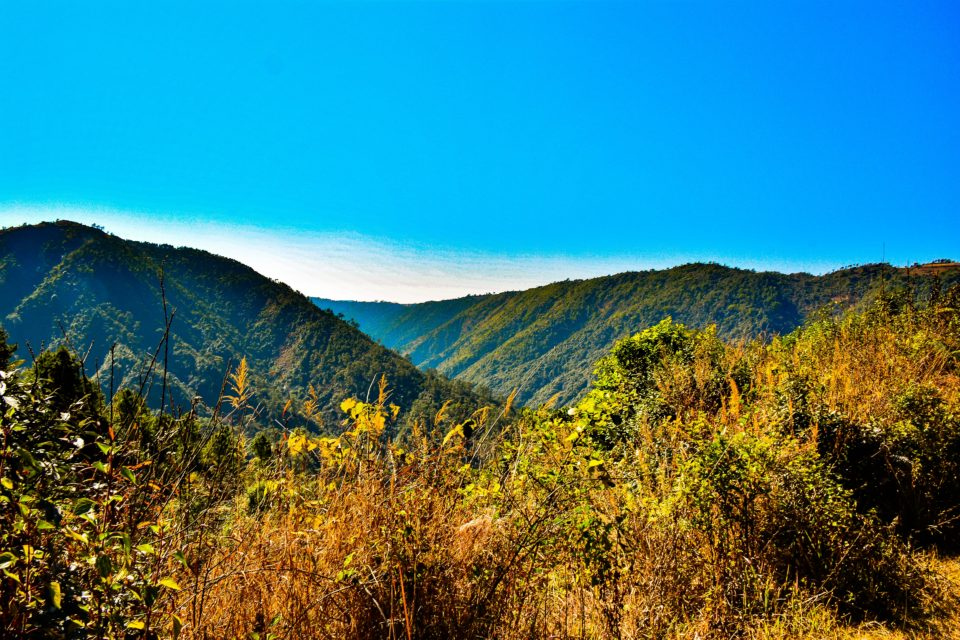 David Scott Trail, named after a British officer is one of the hiking trails in Shillong