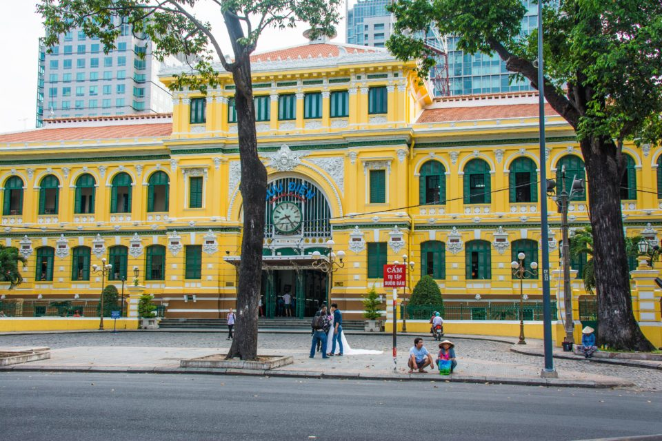 Central Post office in Ho Chi Minh City or Saigon