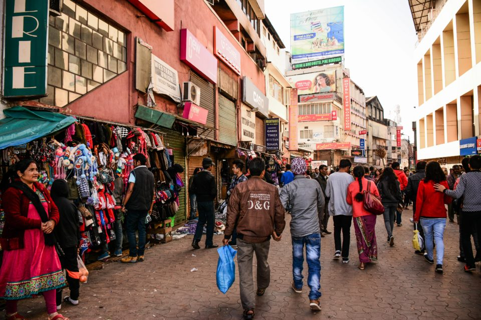 Police Bazaar in Shillong is the downtown of Shillong