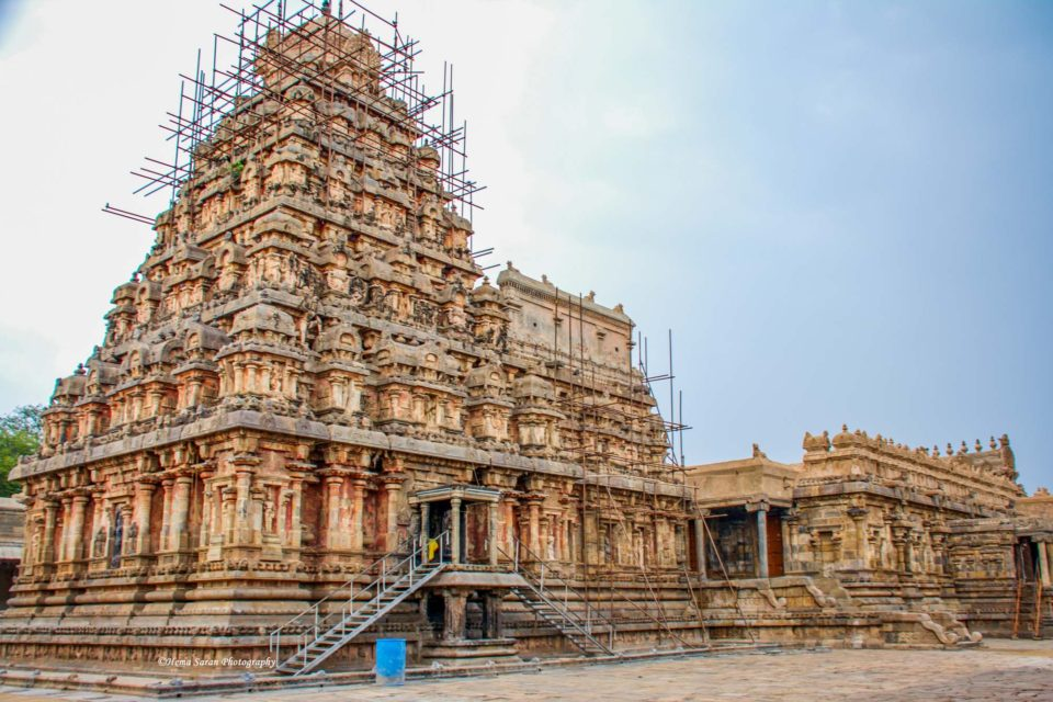 Vimana of the Dharasuram Temple