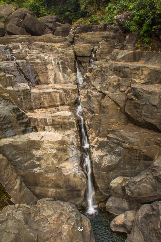 Borhill or Bophill falls - 5 kms from Dawki town