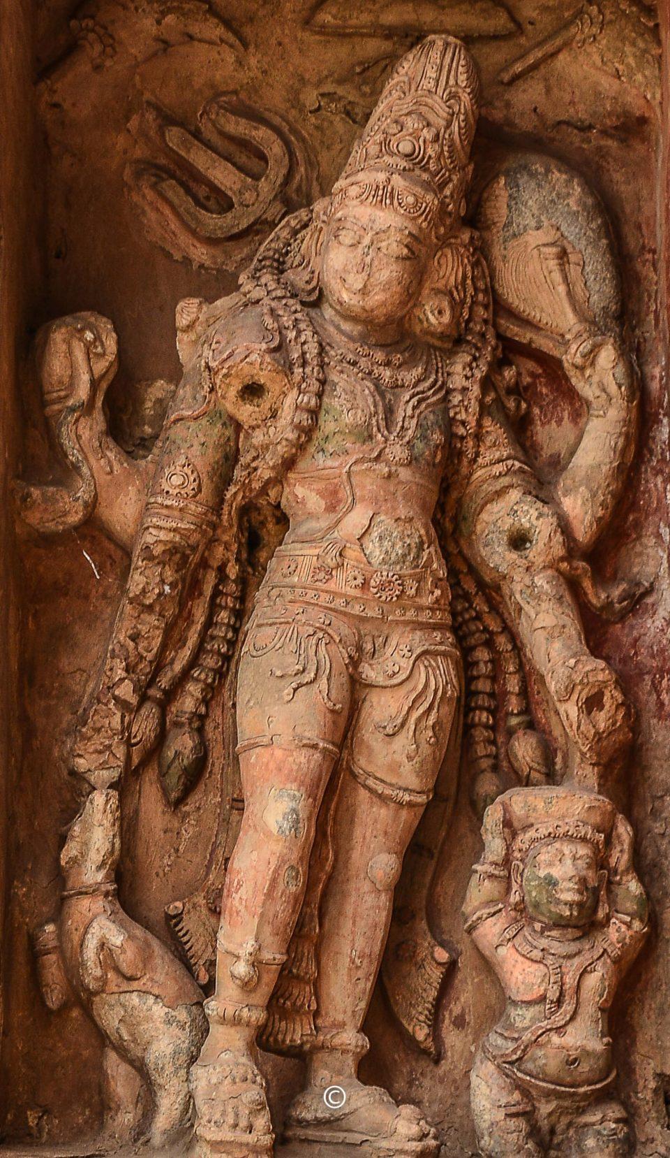 Kankala Murthy Sculpture in GangaiKondaCholaPuram