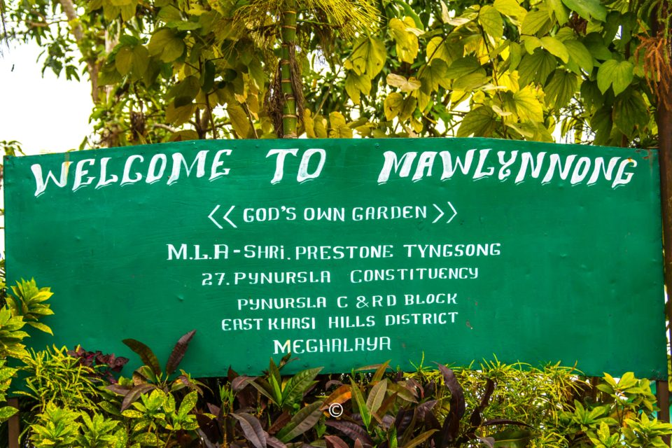 Mawlynnong - People take pride in calling the village God's own Garden.