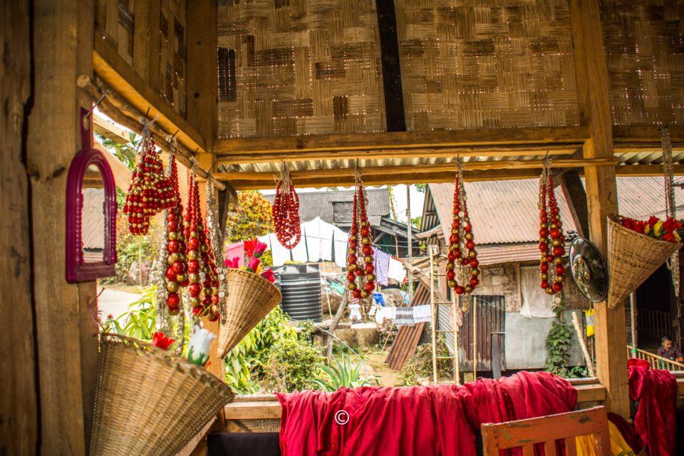 Shop selling handicrafts of Khasi people