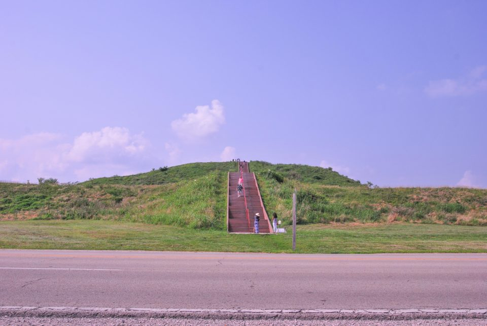 Monks Mound - Largest Mound in Cahokia Archaeological site