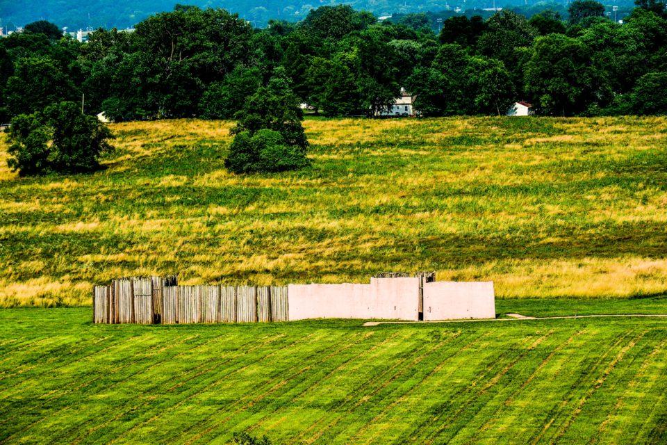 Cahokia was surrounded by Palisade walls called stockade walls