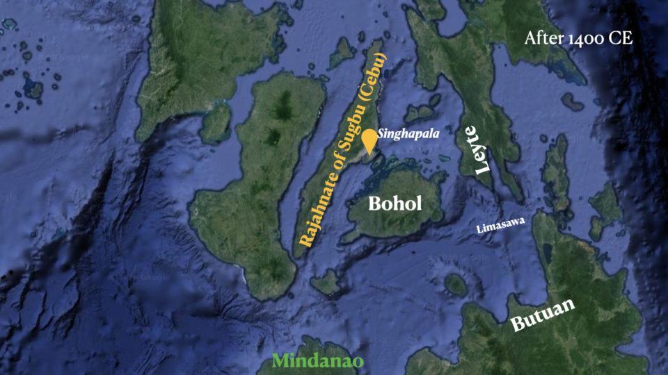 Map of Visayas Region, Philippines