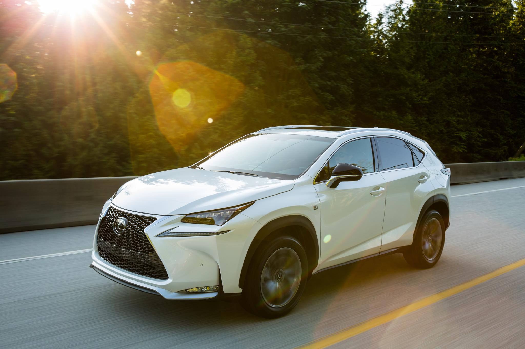 Lexus nx-200t-f-sport car lease this month