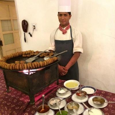 Bhajias, pakoras and chutneys make a great snack - photo - Karen Anderson