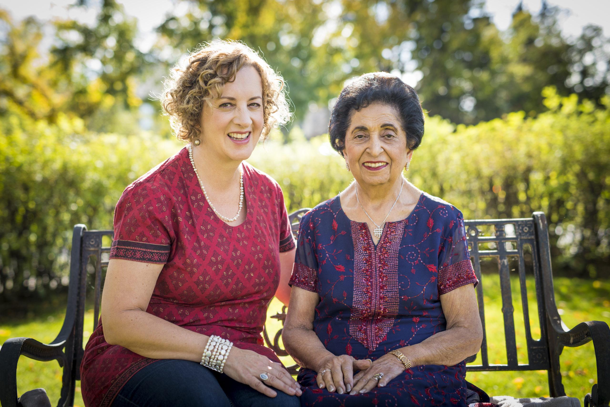 Karen Anderson and Noorbanu Nimji - portrait