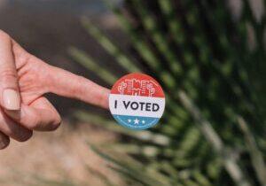 Voting Sticker Image PR Blog