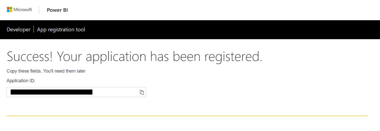 register-application-powerbi