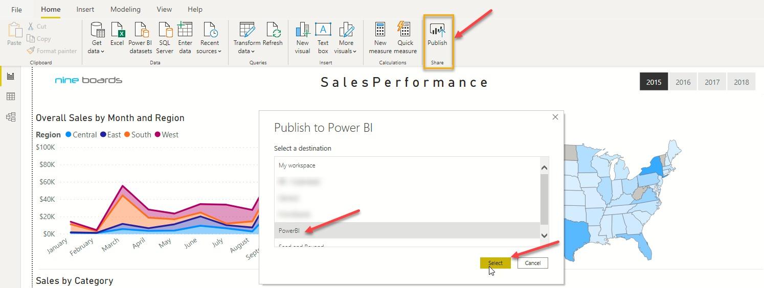 publish-powerbi-microsoft-teams-integration