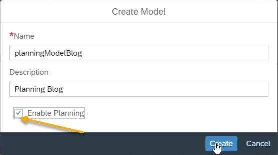 create-model-sap-analytics-cloud