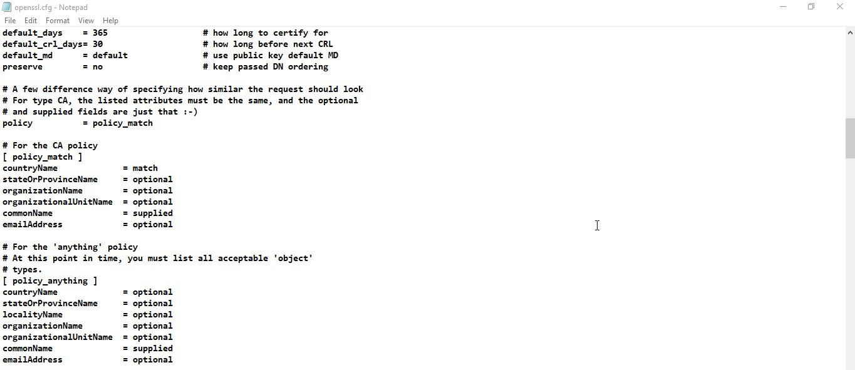 create-certificate-using-openssl-for-sap-hana