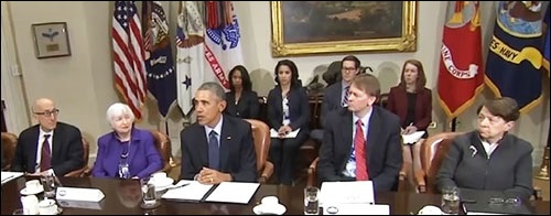 President-Obama-Calls-Surprise-Meeting-With-Financial-Regulators