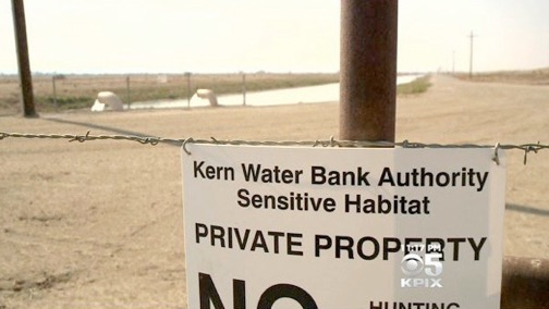 Kern Water Bank. (CBS)