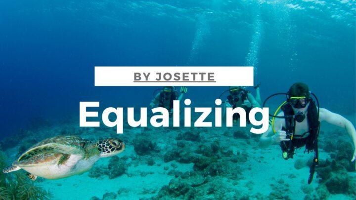 equalizing scuba dive