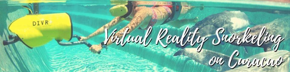 Virtual Reality Snorkeling on Curacao