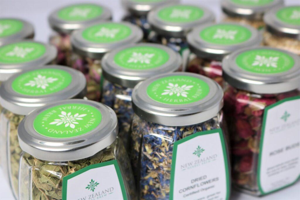 New Zealand Herbal Brew Tea Range