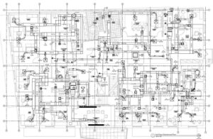 Illustration of the 3rd Floor Mechanical Plan -Maya Building