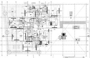 4th Floor Mechanical Plan - Maya Building