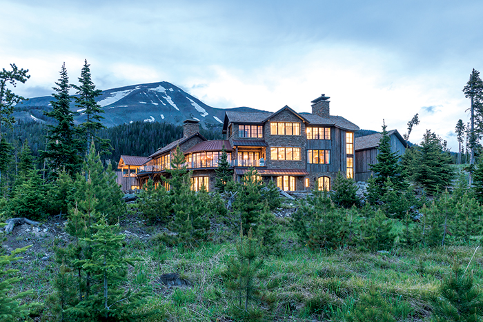 Yellowstone Club House Engineered by JM Engineering