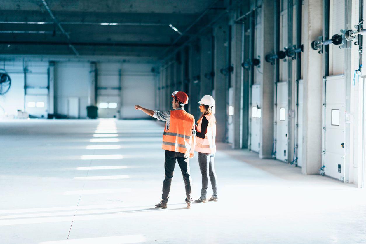 Builders in engineered building