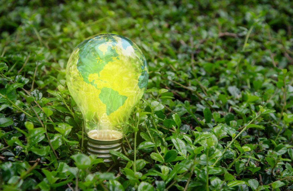 Geothermal energy light bulb