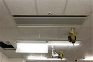 Ceiling Installation of Chilled Beam