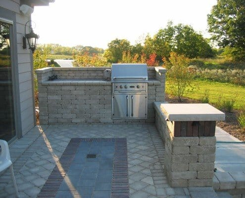 Built-in Outdoor Grill Bayside, WI