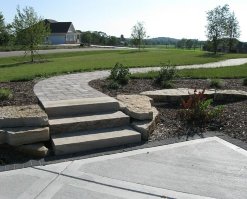 Front Entrance & Walkway