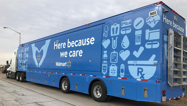 Walmart Mobile Pharmacy Facility
