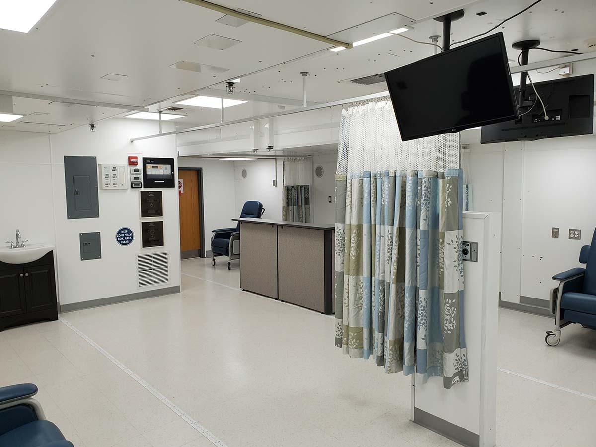 Photo St Croix Mobile Dialysis Facilities Inside Reception Desk