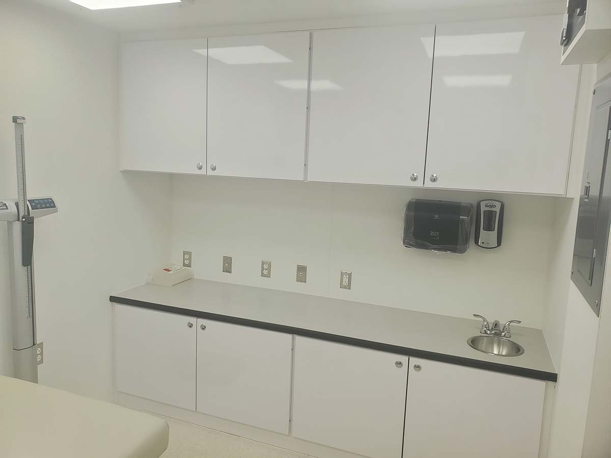 Photo Of Fort Peck Tribes Mobile Clinic Countertop