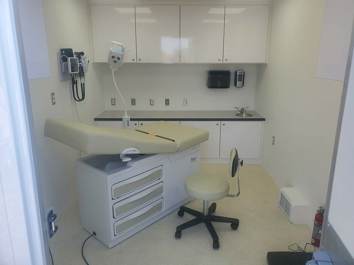 Photo Of Fort Peck Tribes Mobile Clinic Inside