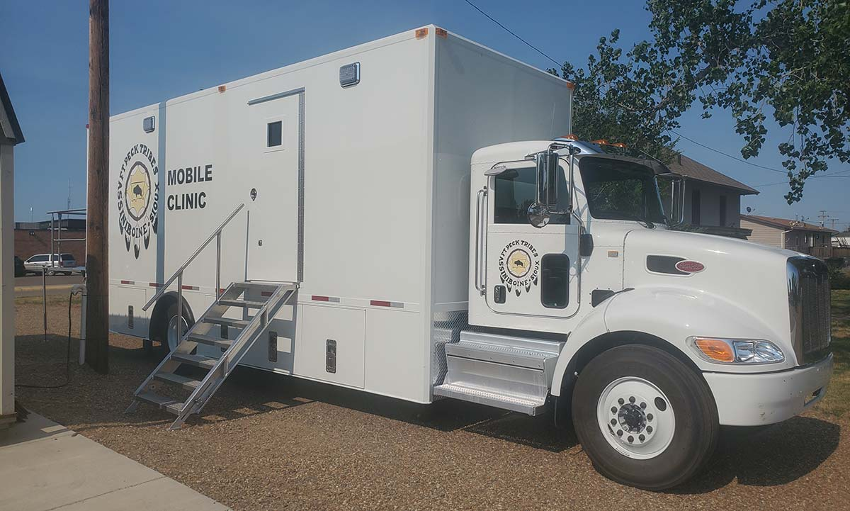 Photo Of Fort Peck Tribes Mobile Clinic Outside