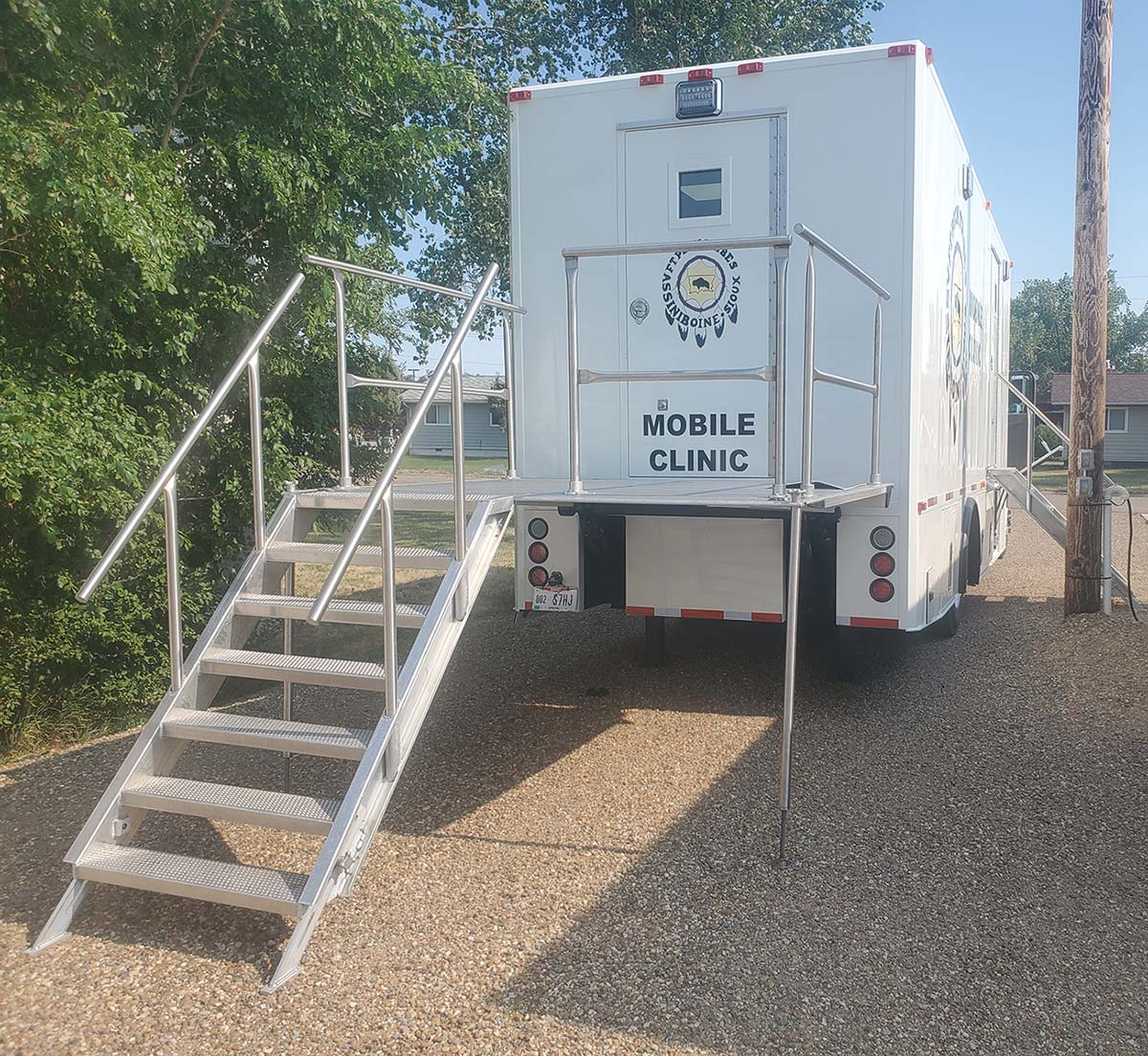 Photo Of Fort Peck Tribes Mobile Clinic Rear View