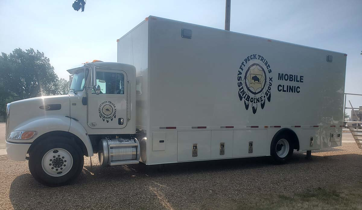 Photo Of Fort Peck Tribes Mobile Clinic Side View