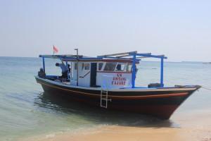 Km Bintang Fajar 2 disewakan untuk trip mancing di Tanjung Pasir | Fishing-mancing.com
