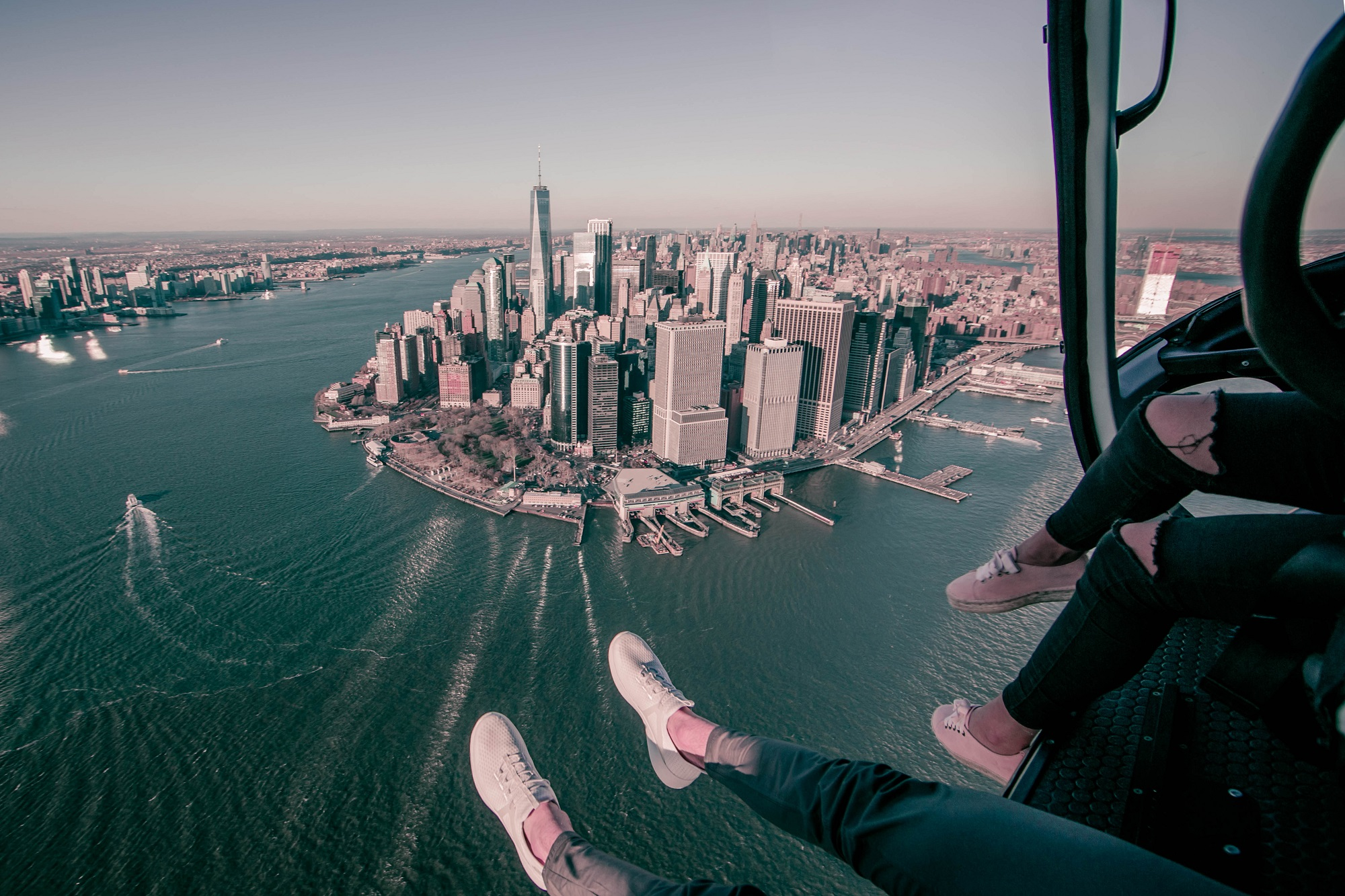 FlyNYON review - NYC helicopter tour